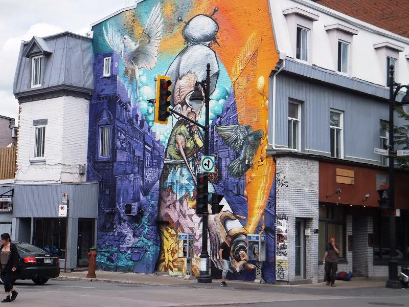 Lee más sobre el artículo Arte callejero en Montréal