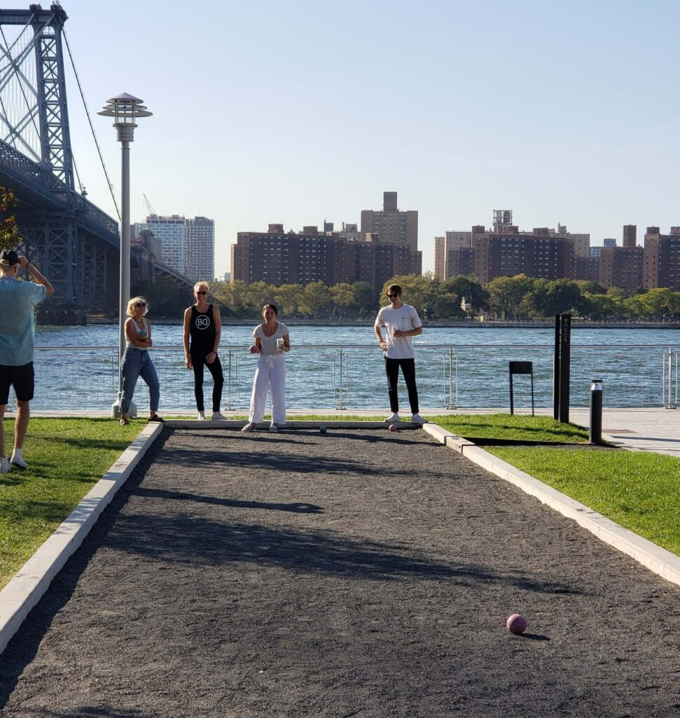 Petanque, Domino Park, Williamsburg