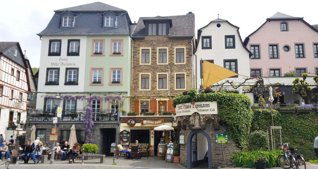 Casas de entramado, Beilstein, Mosela, Alemania