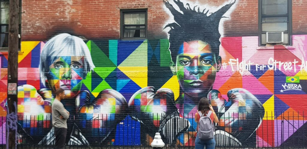 Fight for Street Art, Kobra en New York