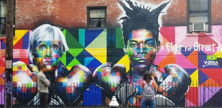 Fight for Street Art, Kobra en New York