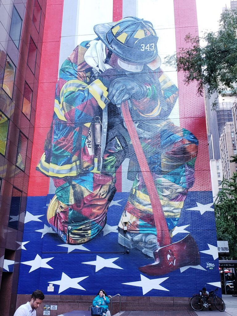 The Braves of 9/11, Kobra en New York