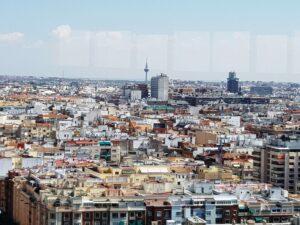 Panorama de Madrid desde el Faro de Moncloa