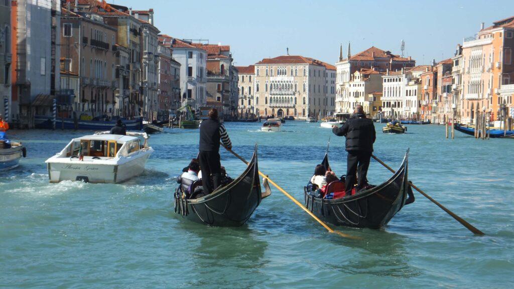 Canalazzo, Venecia, Italia