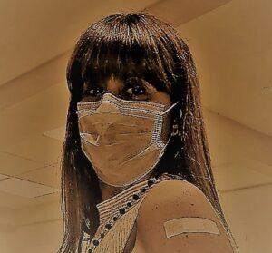 Voluntaria para probar la vacuna CureVac en Argentina