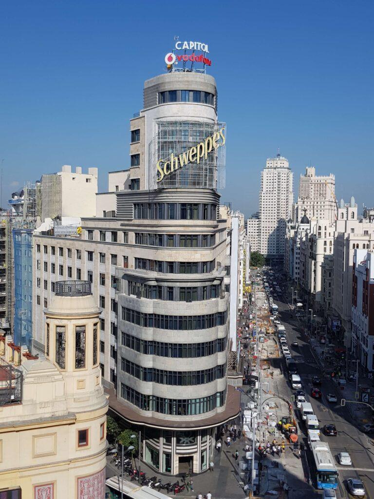 Mirador del Espacio Gourmet Experience, El Corte Inglés, Madrid
