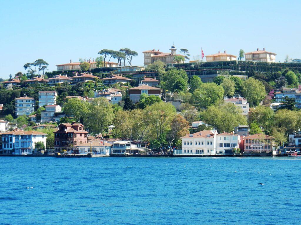 Crucero por el Bósforo en Estambul